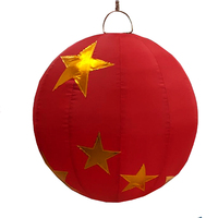 Giant Red Christmas Bauble Inflatable - 500mm