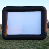New Movie Screen Inflatable 7m x 5m Giant Outdoor Projector Cinema Party Theatre