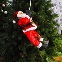 60cm Santa Claus Climbing And Sitting
