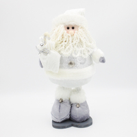 WHITE SANTA with Telescopic Legs
