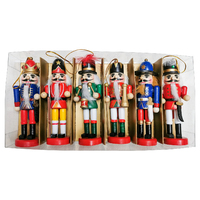 THE HUNGARIANS - Set of 6    Nutcrackers 12.5cm