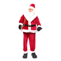 Singing Dancing Santa 6ft / 180cm With 5 Songs