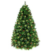 NORWEGIAN Spruce   7ft  2.1m  1474 Tips - 440 LED Lights