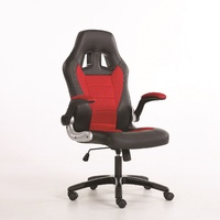 New Racing Office Chair Seat Silverstone Racer Computer Gaming PU Leather Deluxe